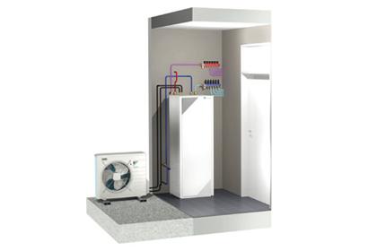 comment fonctionne une pompe chaleur bati info l. Black Bedroom Furniture Sets. Home Design Ideas
